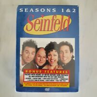 Sold Item Seinfeld Seasons 1 & 2 (DVD) Brand New and Sealed