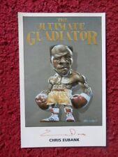 Chris Eubank ' Boxer ' Autographed Photo