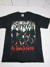 SlipKnot All Hope Is Gone Concert Shirt Size Med Black Shirt Fast Ship A6