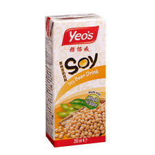 6 x 250ml Soy Bean Drink by Yeo's ***** UK Seller - Quick Delivery *****
