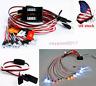 US Brake&Headlight&Signal LED Light Kit Fit1:10/1:8 RC Car truck 2.4ghz PPM FM
