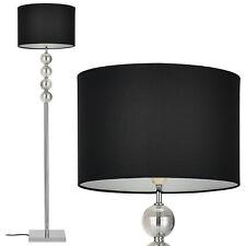 [lux.pro] Stehleuchte E27 [155 cm x Ø37 cm] Stehlampe Standleuchte Schwarz