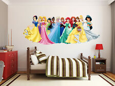 150 Disney Princesses Frozen Elsa Anna LARGE VINYL WALL STICKER DECALS  CHILDREN0