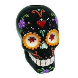 SUGAR CARNIVAL SKULL by Nemesis Now candle holder gothic gift