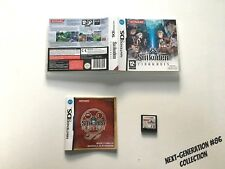 SUIKODEN TIERKREIS sur Nintendo DS Version PAL FR MINT #NEXT-GENERATION #86
