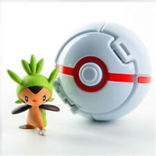 Pokemon Throw Pop PokeBall Cosplay Pop-up Elf Go Fighting Poke Ball toys white