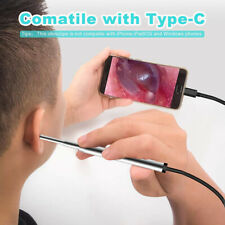 2in1 Mini Endoscope Camera 3.9Mm 6 Adjustable Leds Interface for Otg AndroidQ Yh