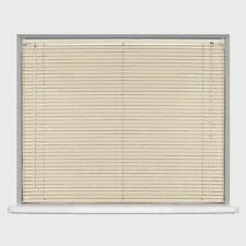 Pvc Wood Wooden Grain Effect Venetian Window Blind / Blinds Home Office Easy Fit