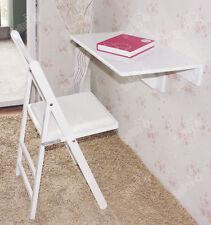 SoBuy® Table murale a rabat , table d'enfant multicouleus, 60�—40cm, FWT03, FR