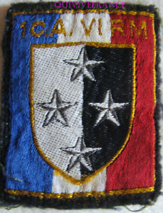 IN18279 - Patch 1 ° Corps D' Armee - 6° Region Militär