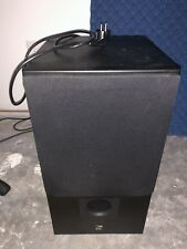 BAS 100 active subwoofer which requires 220v power