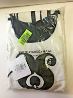 New In Plastic Sleeveless Cocktail Dress 👗 Victoria Beckham 2X For Target B&W