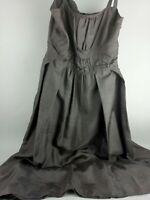 Duet Style Raw Silk Dress Sz 10