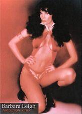 Barbara Leigh VAMPIRELLA Trading Card Series #BL2 AUTOGRAPHED Signed