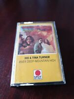 Ike and Tina Turner - River Deep Mountain High Spot Records   Cassette Tape