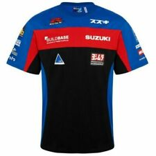 Buildbase Suzuki BSB Superbike Racing Team custom T Tee shirt authentic BNWT