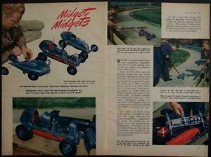 1946 Tether Race Cars Dooling original Vintage Pictorial