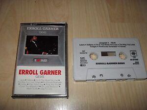 ERROLL GARNER - GEMS (CASSETTE/TAPE ALBUM)