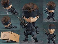 Neu Nendoroid 447 Metal Gear Solid Snake Game PVC Action Figure Figur 10cm NoBox
