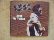 Very Rare!! Hear Me Talkin'  Lightnin' Hopkins CD 1954 30-songs 76:05 min Import