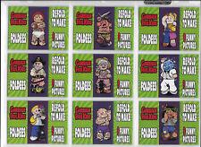 Garbage Pail Kids BNS 2 Complete Foldees & Glow in the Dark sets