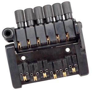 6 Saiten Tremolo Steg Saitenhalter für Headless E-Gitarren Parts