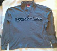 Sypder Long Sleeve Pullover Shirt Mens Size Medium Casual Q