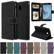 Matte Wallet Leather Flip Case Cover For Samsung A10 A20 A30s A40 A50s A70s A20E