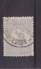 AUSTRALIA-1915-6d KANGAROO (GREY BLUE COLOUR VARIETY)-NCA W/M-$10-freepost