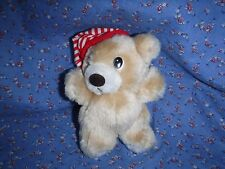 Russ Plush Bear with Cap  Nightcap  5 1/4 Inch high at Ears