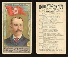 """1887 N127 Duke Sea Captains """"E.H. Freeth"""" GOOD/GOOD+ **AA-7761**"""