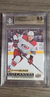 2018-19 Upper Deck Young Guns Canvas Andrei Svechnikov BGS 9.5 GEM MINT 💎
