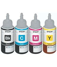 New  genuine EPSON T664 Ink Bottle 4 Color Cartridge For L355 L350 L300 l805