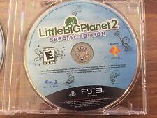 LittleBigPlanet 2 -- Special Edition Playstation 3 PS3 Bonus Pexels Blue Ray