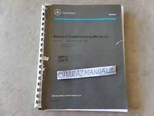 1983-1989 Mercedes Benz Model 107 Electrical Troubleshooting Service Manual