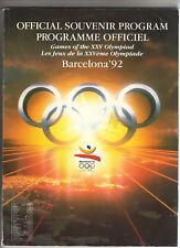 Orig.Compl.Prg Xxv.Olympic Games Barcelona 1992 !