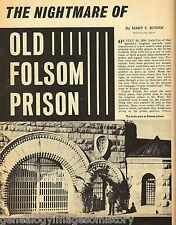 Folsom Prison History + Genealogy