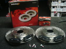 FOR NISSAN NOTE 1.4 1.5DCi FRONT BRAKE DISCS & PADS MINTEX