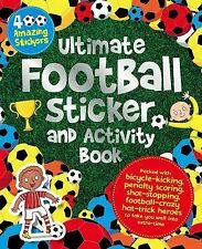NEW  ULTIMATE FOOTBALL STICKER and ACTIVITY book with 400 STICKERS