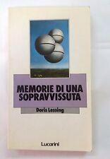 Memorie di una sopravvissuta di Doris Lessing -  Lucarini, 1986