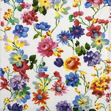 4x Paper Napkins - Bed of Flowers- for Party, Decoupage