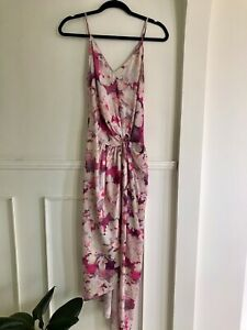 SHEIKE Floral Maxi Dress Size 6 XS Casual Summer Beach