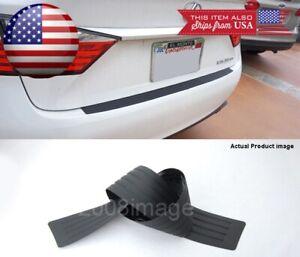 """3"""" W x 35"""" L Black Flexy Bumper Guard Cover Sill Scuff Protector Plate For Ford"""