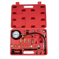 140PSI Fuel Injector Pressure Tester Tool Gauge Car Injection Gasoline Gas  Z5Z6