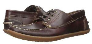 Timberland Mens Odelay Lace Up 4 Eye Camp Moc Toe Casual Fashion Shoes Kicks