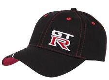 Nissan GTR GT-R Black Baseball Cap Hat New Genuine GTR62