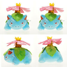 Pokemon Center Mega Venusaur Plush Stuffed Doll Toy 7 Inch Kids Gift Toy