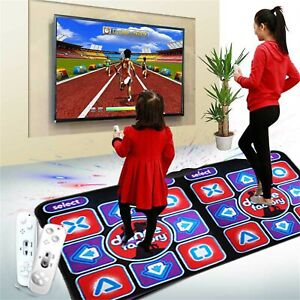 Double User Dance Mats Non-Slip Dancers Step Pads Sense Game Yoga Game Blanket