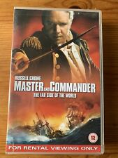 Master And Commander: The Far Side Of The World (VHS, 2004) Russel Crowe Cert 12
