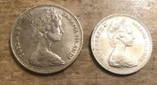 1966 BAHAMA ISLANDS $5 FIVE DOLLAR ONE OUNCE SILVER COIN & $2 Silver Coin